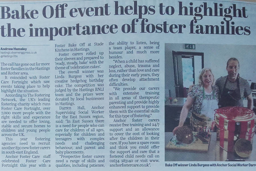 Anchor Foster Care in Hastings Observer